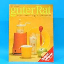 Guter Rat 1-1981 Verlag für die Frau DDR Steratrans 2310 Schaukel Schaukelbett B
