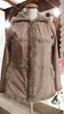 veste fausse fourrure femme marron taille L 40/42 DE Marque EZABELLA