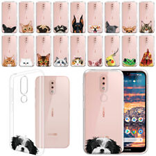 """For Nokia 4.2 5.7"""" Animal Clear Tpu Silicone Soft Gel Case Phone Cover Skin"""
