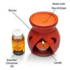 Cinnamon oil Burner Sleeping Home Oil Candles Holder Night Fragrance Lamp