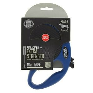 NEW Blue/Pink Great Choice retractable Xtra Strength 16ft XL Tape 150LB Max