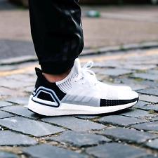 NEW Adidas Ultraboost 19 PANDA Black & White Running shoes Men's size 13 B37707