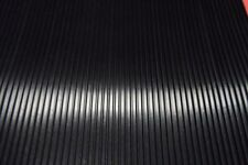 Ribbed Rubber Strips,3mmthick 50mm wide, by the meter long