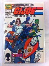 G.I. Joe - Order of Battle #3 Comic Book Marvel 1986