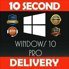 Windows 10 Pro 32 64 bit License key online activation ✅ INSTANT DELIVERY