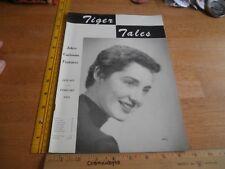 LSU Tiger Tales 1955 campus magazine Pastime Lounge  V2 #3 Girls Jokes