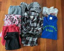 Lot Of 8 Pc Girls Lot Size 14 L/XL Justice, Knit Works, A&F Mixed Clothing
