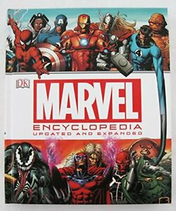 Marvel Encyclopedia - Updated and Expanded Book The Cheap Fast Free Post