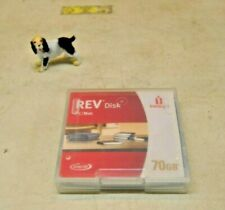 IOMEGA REV 70GB Disk PC/Mac Removable Media FREE SHIPPING