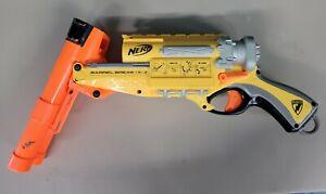 Nerf N-Strike Barrel Break IX-2 Shotgun Blaster Tested Works Yellow Orange