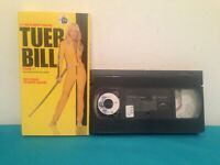 Kill Bill VOLUME 1  VHS tape & sleeve FRENCH