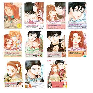 Imitation Vol.1~11 Set Webtoon Spot Toon Korean Comics Manhwa Manga