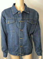 Duke Haband Denim Jean Jacket Mens Size Lg Large L