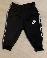 Baby Boys Taped Black Nike Joggers 3months