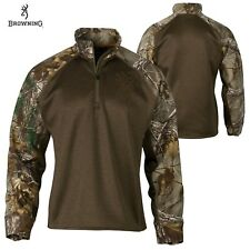 Browning Hell's Canyon Bellum 1/4 Zip Pullover (M)- RTX