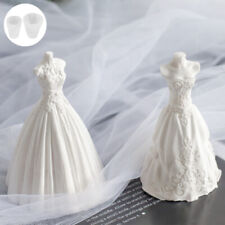 Diy Wedding Dress Candle Mould Soap Aromatherapy Candle Mold Wax Craft Making.