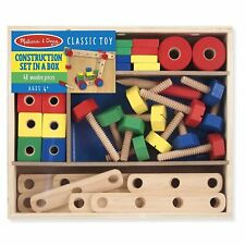 Melissa And Doug Classic Toy Construction Set In A Box NEW Educational Toys