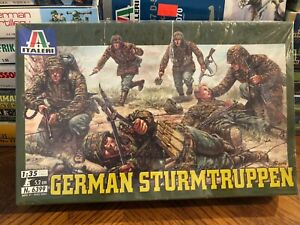 Italeri No.6399 German Sturmtruppen  soldiers SEALED 1:35