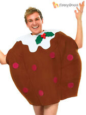 Bristol Novelty AC905 Christmas Pudding Costume Brown Chest Size 44-inch
