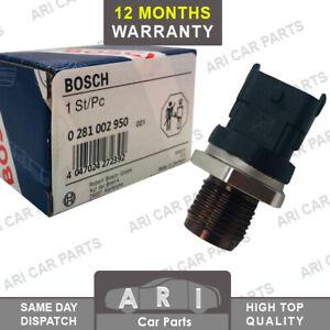 BOSCH FUEL RAIL HIGH PRESSURE SENSOR For Honda CR-V ACCORD VIII 1.6 2.2 I-DTEC