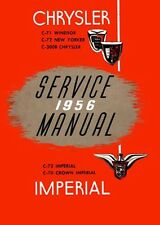 1956 Chrysler Shop Service Repair Manual Book Engine Drivetrain Electrical OEM