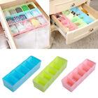 5Cells Plastic Organizer Box Storage Tie Bra Socks Drawer Cosmetic Divider Tidy