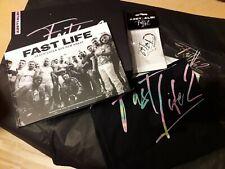 AZET & ALBI Fanpaket Fast Life 2 (T-Shirt Gr.L, Buch, Keychain,...)  NEU