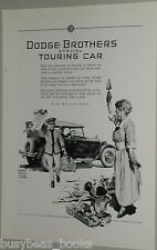 1925 Dodge Brothers advertisement, Special Touring Car