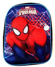 Marvel Comics Ultimate Spider-Man Boy's 3-D Graphic Superhero Backpack Book-Bag