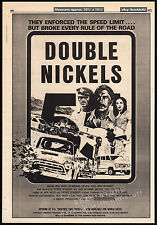 DOUBLE NICKELS__Original 1977 Trade AD promo_poster__Edward Abrahms_Michael Cole
