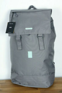 Lefrik Rucksack Backpack Flap Grey Charcoal 30L Bag Recycled PET