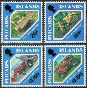 Timbres Transports Pitcairn 372/5 ** (36294V)