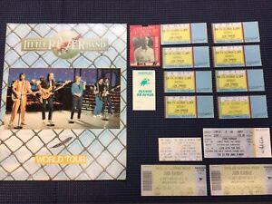 John Farnham Bulk Lot Tickets, Backstage Passes and Tour Programme 15 Pieces