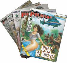 Set # 3 de 5 Novelas Ilustradas: Policiaca y de Acción en Español