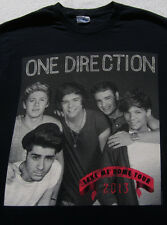 ONE DIRECTION 2013 tour SMALL concert T-SHIRT take me home