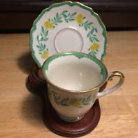 Vintage R/Y Demitasse Tea Cup and Saucer Hoenberg Bavaria