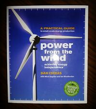 SIGNED! Power from the Wind… (2009) 1st Ed VG+ SC Chiras AUTOGRAPHED Free SHIP