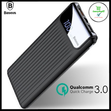 10000mAh 3.0 Quick Charge Power Bank USB External Backup Battery Phone Charger