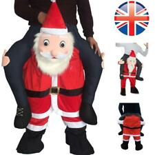 *UK Seller* Santa Ride On Me Piggy Carry Funny Costume Christmas Fancy Dress