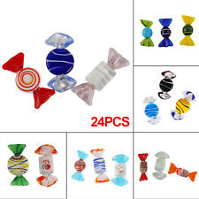 More details for 24pcs glass sweets vintage wedding party candy christmas decor gift hot colorful