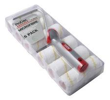 """PRODEC advance 6 pack de 4"""" pouces microfibre mini peinture rouleaux & frame (fille 003)"""