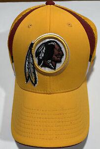 Washington Redskins Fitted Stretch Cap Baseball Hat, NFL Reebok Onfield S/M NWOT