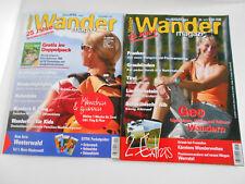 Wandermagazin -Zeitschriften : 2 Exemplare