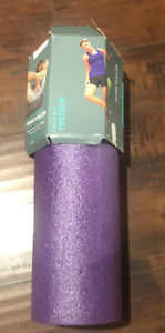 """Gaiam Restore Foam Roller 18"""" Muscle Therapy Total Body, Pro Quality- Marbled"""