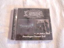 """Derringer """"Same & Sweet Evil"""" 2003 Reissue BGO Records UK New Sealed"""