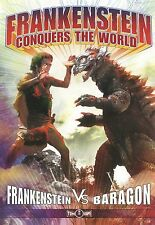 Frankenstein Conquers The World   **NEW DVD** 2 disc