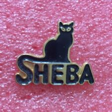 Pins Animaux SHEBA CHAT NOIR BLACK CAT
