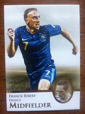 2013 Futera Unique Soccer Card - France FRANCK RIBERY Mint