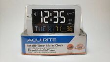 Acu-Rite Intelli-Time Alarm Clock - New sealed