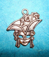 Pendant Girl Pirate Charm Caribbean Sea Ship Ahoy Mate Buccaneer Swashbuckler